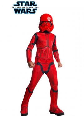 Disfraz de Sith Trooper Clásico de Star Wars para niño