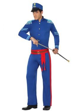Disfraz de Soldado azul para hombre