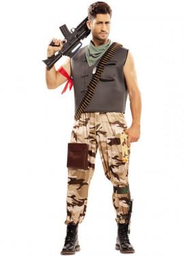 Déguisement de Soldat de Combat pour homme