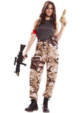 Costume da soldato per una donna