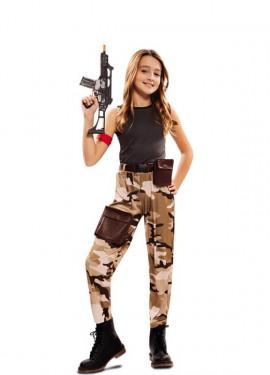 Déguisement de Soldat de Combat pour fille