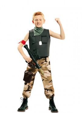 Costume da soldato per un bambino
