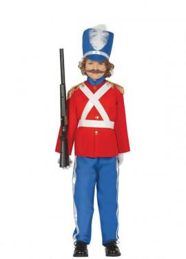 Costume da soldato di piombo per ragazzo