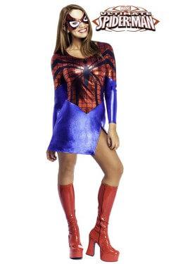 Disfraz de Spider-girl de Spiderman para mujer