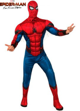 Disfraz de Spiderman Deluxe para hombre