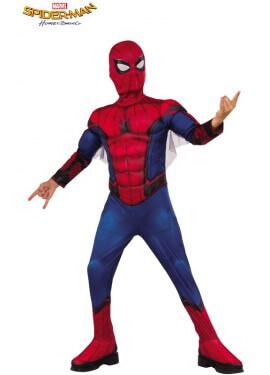 Costume da uomo di razza spiderman per il ragazzo