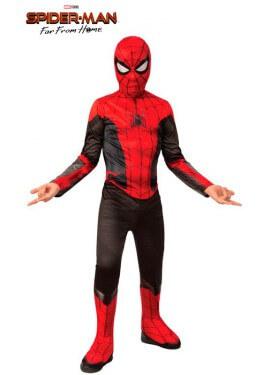Costume di Spiderman rosso e nero per bambino