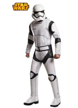 Disfraz de Stormtrooper deluxe de Star Wars para hombre