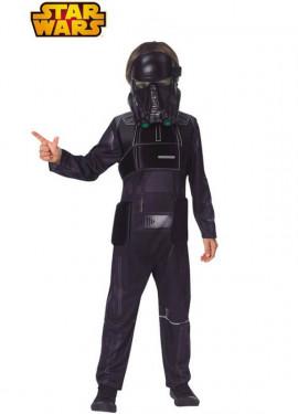 Disfraz de Stront Negro Deluxe de Star Wars Rogue One para niño
