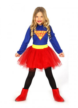 Disfraz de Super Hero con tutú