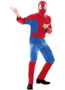 Disfraz de Súper Héroe Araña para hombre