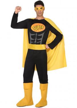 Disfraz de Superhéroe Oscuro para hombre