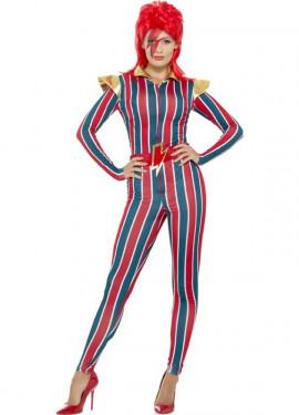 Disfraz de Superestrella de los 70 para mujer