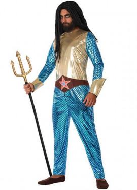 Disfraz de Superhéroe Acuático para hombre