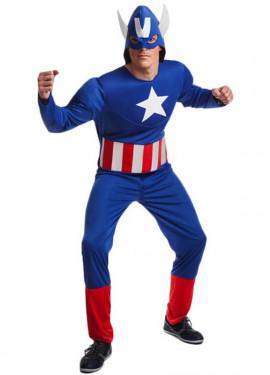 Disfraz de Superhéroe Americano para hombre
