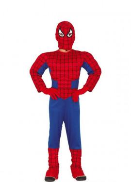 Disfraz de Superhéroe Arácnido para niño