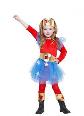 Disfraz de Superheroína Tutú para niña