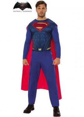 Disfraz de Superman BvS para hombre d3bf60114b7