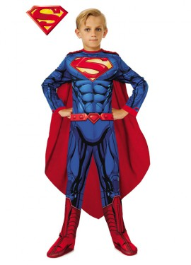 Disfraz de Superman de cómic para niño