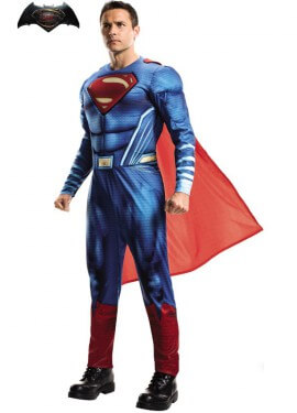 Disfraz de Superman Deluxe de BvS para hombre