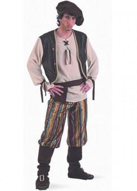 Disfraz de Tabernero Medieval deluxe para hombre