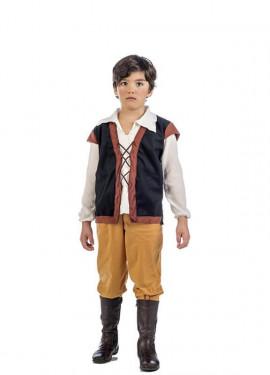 Disfraz de Tabernero Medieval para niño