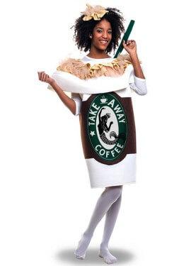 Disfraz de Taza De Café para adultos