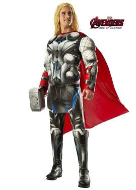 Disfraz de Thor musculoso para adulto