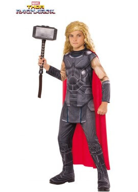 Disfraz de Thor Ragnarok para niño