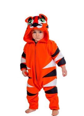 Disfraz de Tigre para bebé de 18 meses