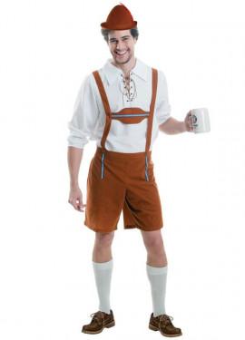 Disfraz de Tirolés Oktoberfest para hombres