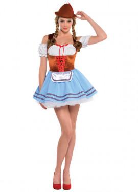 Déguisement Tyrolienne Bavaroise Oktoberfest pour femmes plusieurs tailles