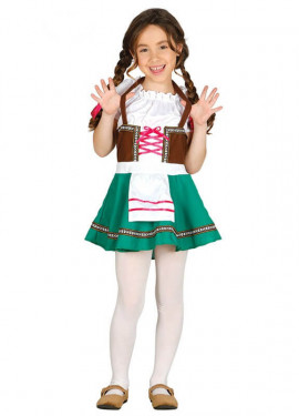 Disfraz de Tirolesa para niña