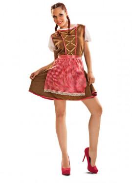 Disfraz de Tirolesa tradicional para mujer