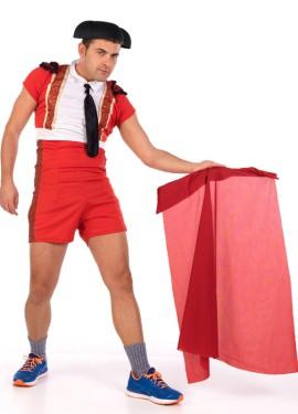 Disfraz de torero corto cachondo para hombre