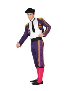 Disfraz de Torero Morado para Hombre
