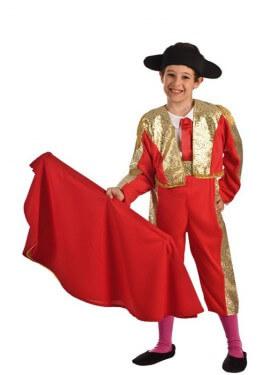 Disfraz de Torero Rojo para niño