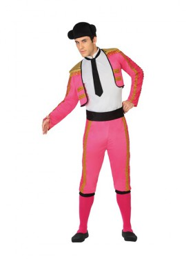 Disfraz de Torero Rosa para Hombre