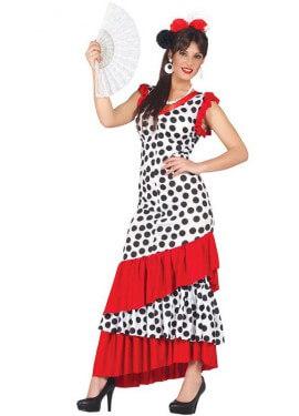 Disfraz de Traje de Flamenca para mujer