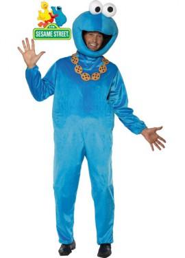 Disfraz de Tricky El Monstruo de las Galletas Barrio Sésamo
