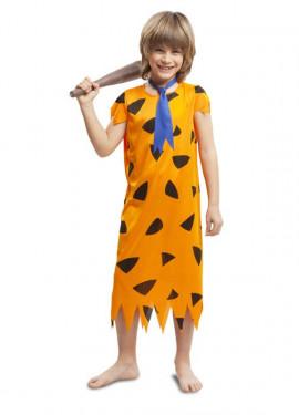 Disfraz de Troglodita de la edad de Piedra para niño