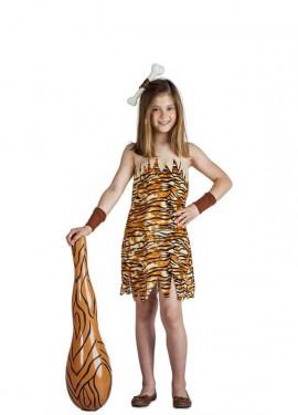 445d528b8 Disfraces de Troglodita y Cavernícola para Niña · ¡Prehistóricos!