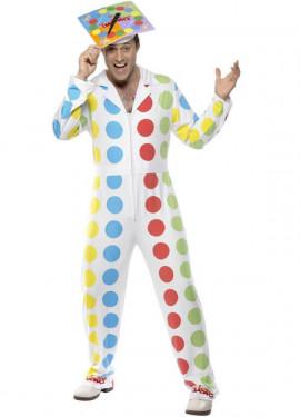 Disfraz de Twister para hombre talla M