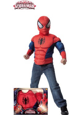 Disfraz de Ultimate Spiderman con Músculos para niño
