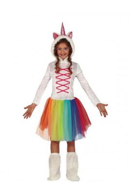 Disfraz de Unicornio con Tutú para niña