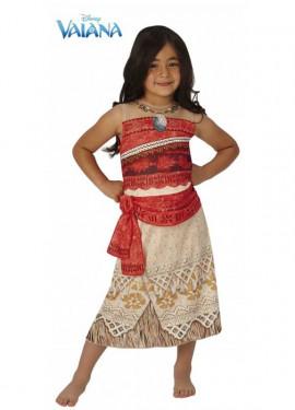 Disfraz de Vaiana Classic de Disney para niña
