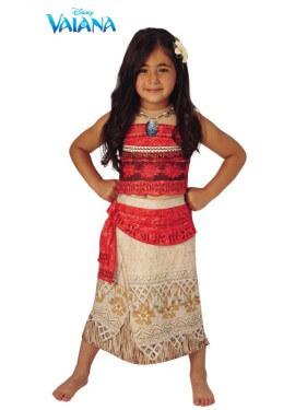 Disfraz de Vaiana Deluxe de Disney para niña