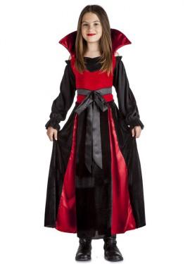 Disfraz de Vampira Lazo para niña