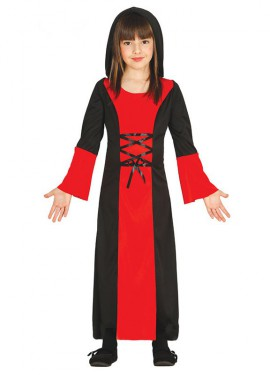 Disfraz de Vampira para niña