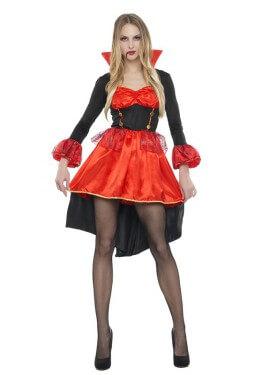 Disfraz de Vampiresa cola de pato para mujer